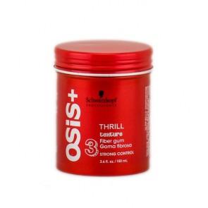 Gomma Modellante Fissaggio Forte, Osis+ Thrill 100 ml