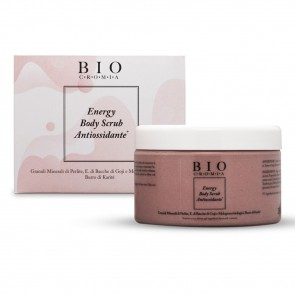 Energy Body Scrub Antiossidante Rosa, 220 g, Biocromia Advance Pro