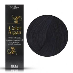 Crema Colorante Permanente Color Argan 1.11 Nero Blu, 120 ml