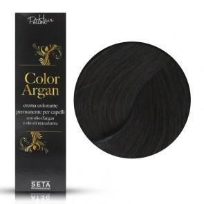 Crema Colorante Permanente Color Argan 1 Nero, 120 ml