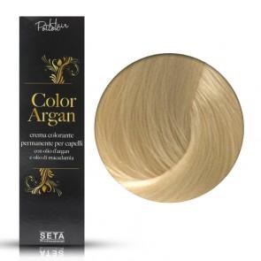 Crema Colorante Permanente, Color Argan, 10 Biondo Extra Chiaro, 120 ml