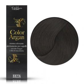 Crema Colorante Permanente Color Argan 3 Castano Scuro, 120 ml