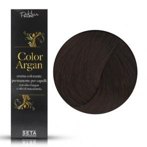 Crema Colorante Permanente, Color Argan, 4.4 Castano Rame, 120 ml
