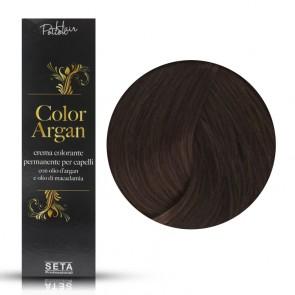 Crema Colorante Permanente, Color Argan, 5.3 Castano Chiaro Dorato, 120 ml