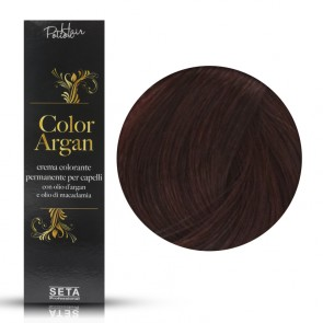 Crema Colorante Permanente, Color Argan, 5.5 Mogano, 120 ml