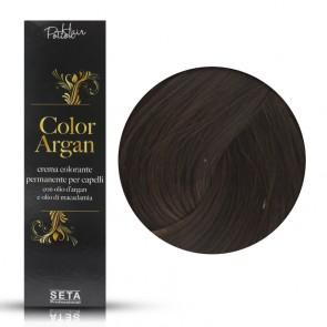 Crema Colorante Permanente, Color Argan, 5.73 Buccia di Castagna, 120 ml
