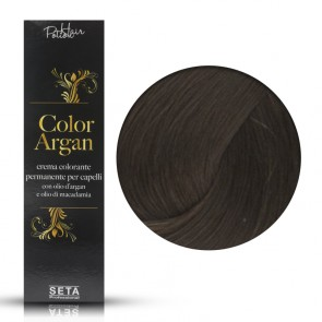 Crema Colorante Permanente - Color Argan -  5 Castano Chiaro - 120 ml