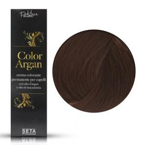 Crema Colorante Permanente, Color Argan, 6.4 Biondo Scuro Rame, 120 ml