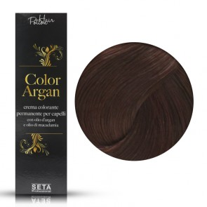 Crema Colorante Permanente, Color Argan, 6.5 Mogano Ramato, 120 ml