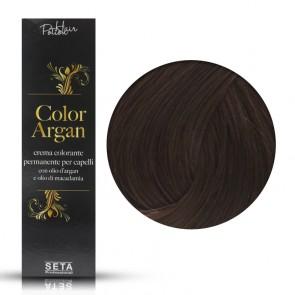 Crema Colorante Permanente, Color Argan, 6.7 Cioccolato, 120 ml