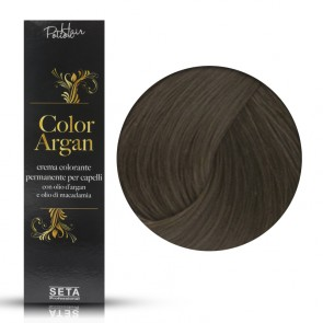 Crema Colorante Permanente, Color Argan, 6 Biondo Scuro, 120 ml