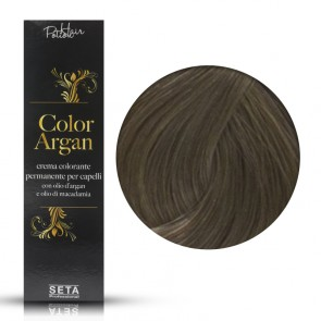 Crema Colorante Permanente, Color Argan, 7.1 Biondo Cenere, 120 ml