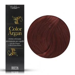 Crema Colorante Permanente - Color Argan -  7.66 Rosso Vivo - 120 ml