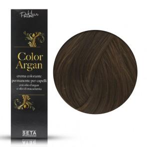 Crema Colorante Permanente, Color Argan, 7.73 Biondo Miele, 120 ml