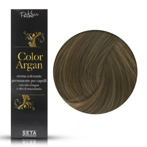 Crema Colorante Permanente - Color Argan -  77 Biondo Intenso - 120 ml