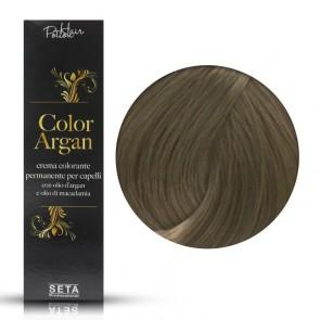 Crema Colorante Permanente, Color Argan, 8.1 Biondo Chiaro Cenere, 120 ml