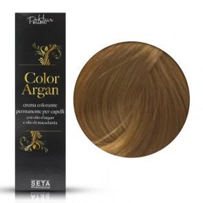 Crema Colorante Permanente, Color Argan, 8.3 Biondo Chiaro Dorato, 120 ml