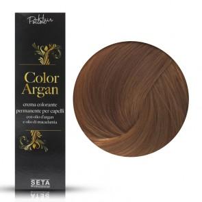 Crema Colorante Permanente, Color Argan, 8.4 Biondo Chiaro Rame, 120 ml