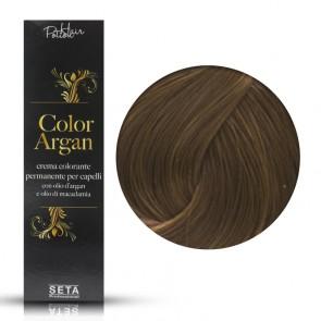 Crema Colorante Permanente, Color Argan, 8.73 Biondo Chiaro Miele, 120 ml