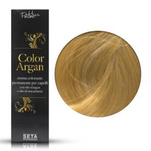 Crema Colorante Permanente, Color Argan, 9.3 Biondo Chiarissimo Dorato, 120 ml