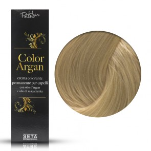 Crema Colorante Permanente, Color Argan, 9 Biondo Chiarissimo, 120 ml