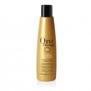 Shampoo Illuminante Tutti i Tipi di Capelli - 300 ml - Oro - Oro Therapy