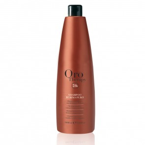 Shampoo Cheratina Capelli Colorati - 1000 ml - Rubino - Oro Therapy