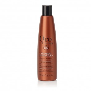 Shampoo Cheratina Capelli Colorati - 300 ml - Rubino - Oro Therapy