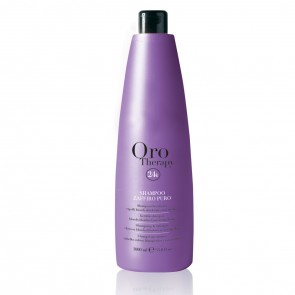 Shampoo Cheratina Capelli Biondi e Decolorati - 1000 ml - Zaffiro - Oro Therapy