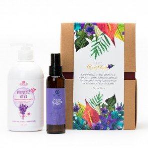"Idea Regalo Eco Bio ""Essenza di Lavanda e Avocado"" Hair&Body"