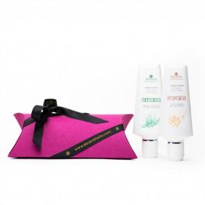 """Idea Regalo Eco Bio """"Miele&Menta Mani&Piedi"""" Hair&Body"""
