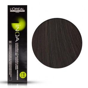 Tinta Capelli Inoa 5.8 Colore Professionale Castano Chiaro Mogano Moka, L'Oreal, 60 gr
