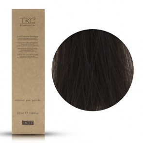 Crema Colorante Permanente 5 Castano Chiaro 100 ml - Triskell Keratin Color
