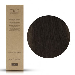 Crema Colorante Permanente 55 Castano Chiaro Intenso 100 ml - Triskell Keratin Color