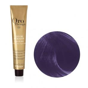 Correttore Capelli Viola Professionale - Color Keratin - Oro Therapy