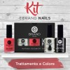 Kit Smalti Professionali - Trattamento + Colore - Ebrand Nails