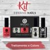 Kit Smalti Professionali - Trattamento + Colore - Ebrand Nails