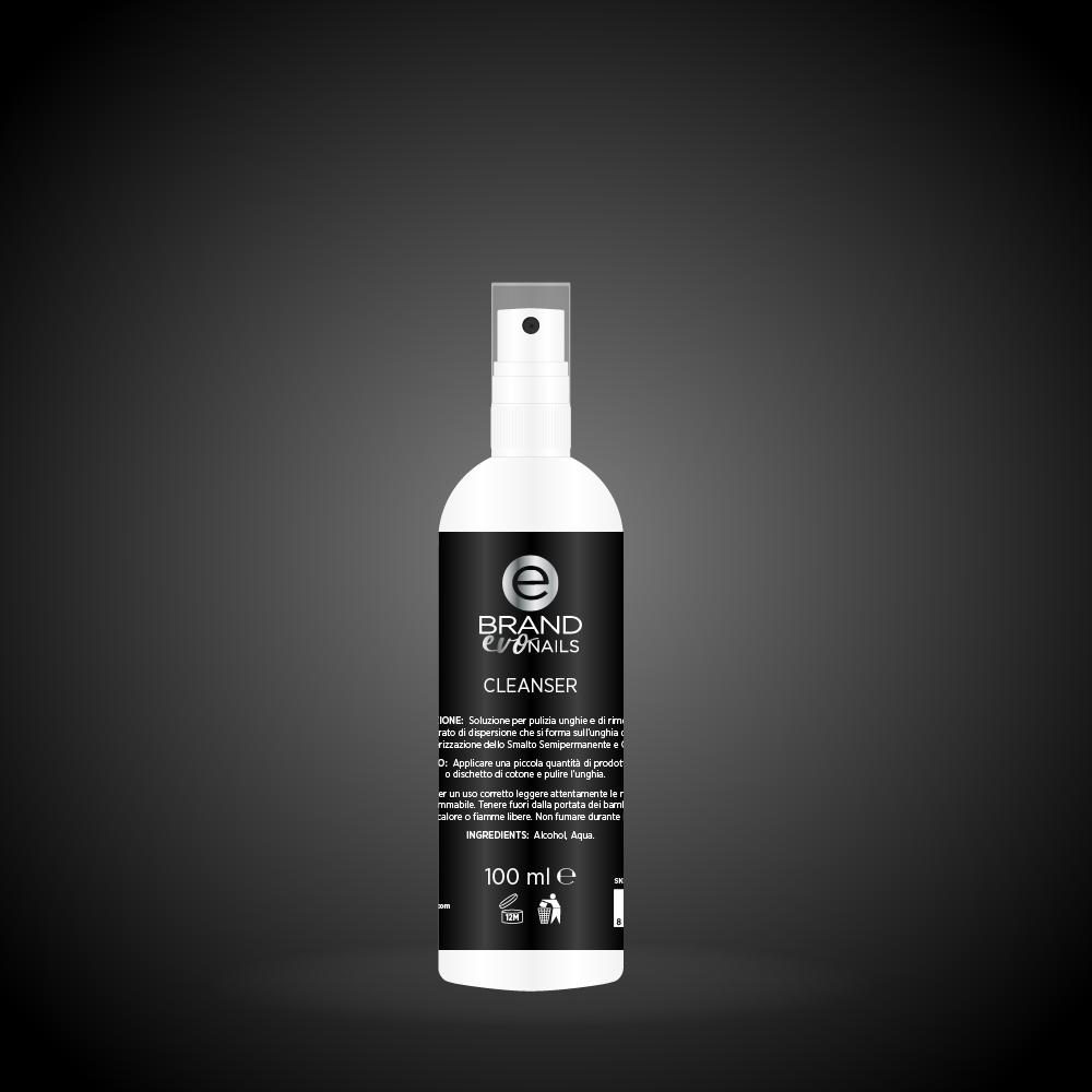 Cleanser smalto semipermanente ml. 100, Evo Nails