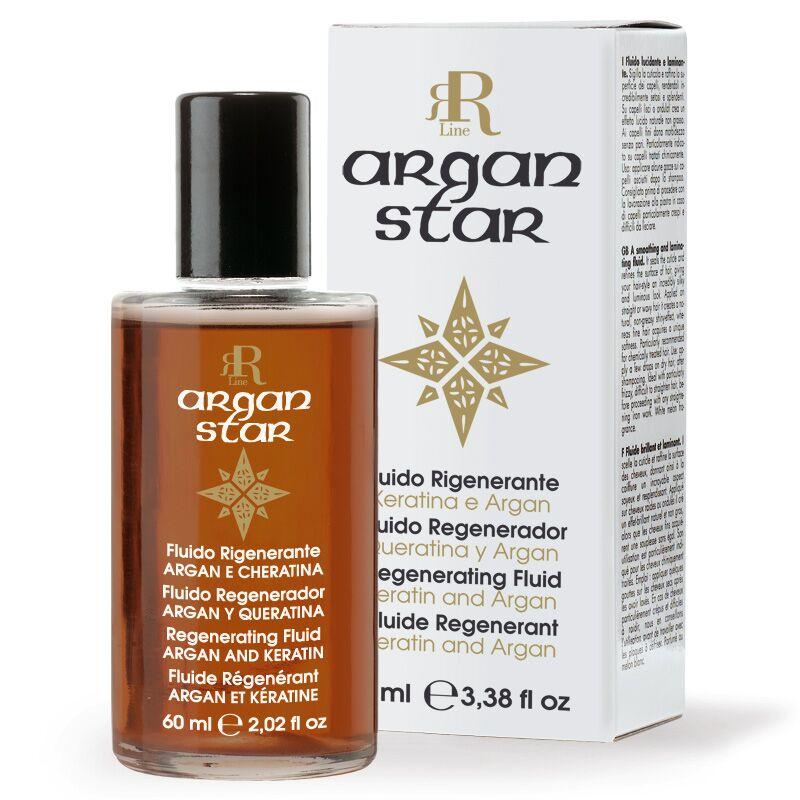 Fluido Rigenerante Argan Star, 60 ml, RR Real Star