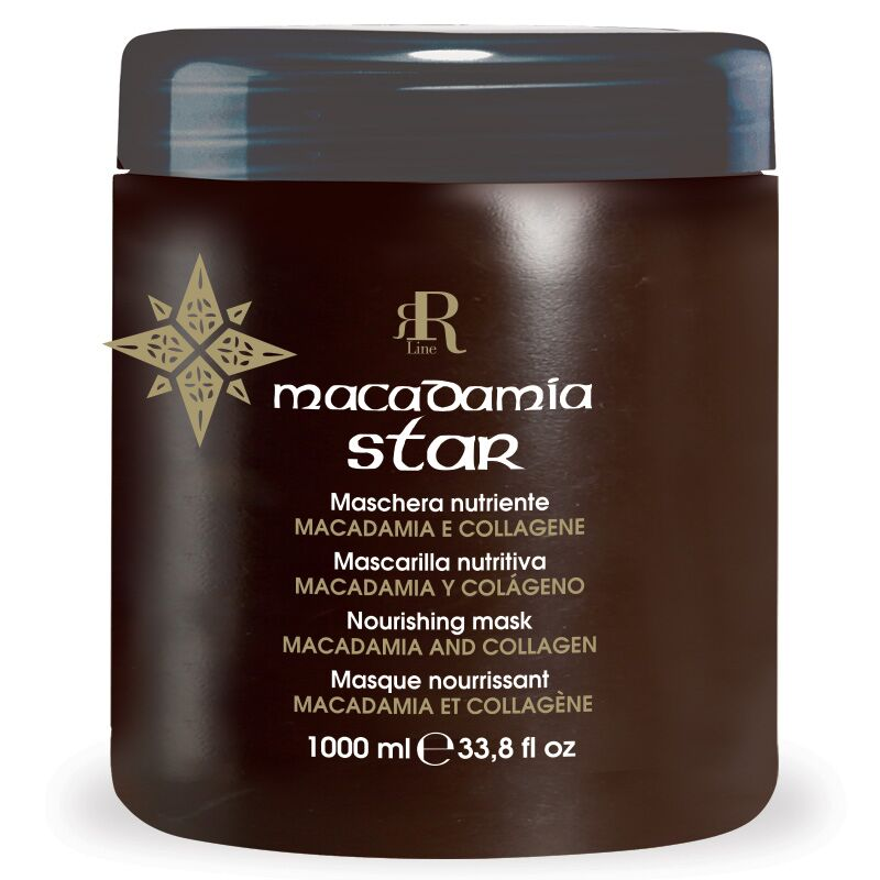 Maschera Nutriente Macadamia Star, 1000 ml, RR Real Star