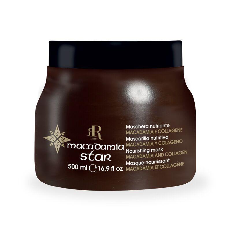 Maschera Nutriente Macadamia Star, 500 ml, RR Real Star