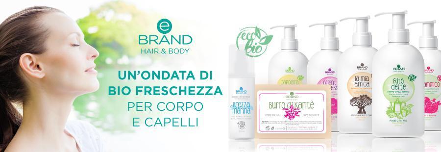 Linea Detergenza Eco Bio Ebrand Hair&Body