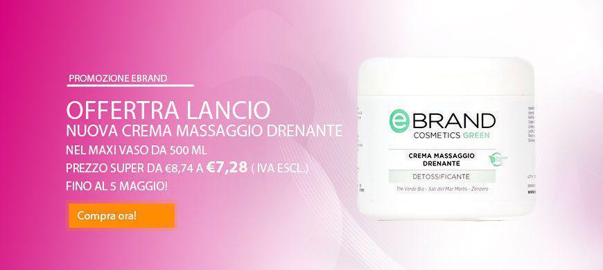promo crema massaggio drenante
