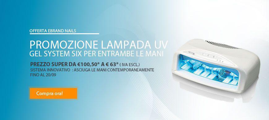 promo lampada gel system six