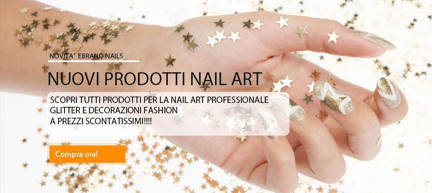nuovi prodotti nail art