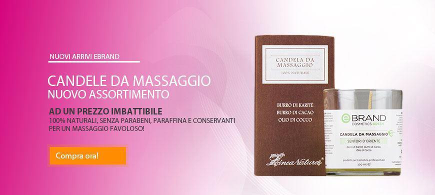 Promo Candele Massaggio