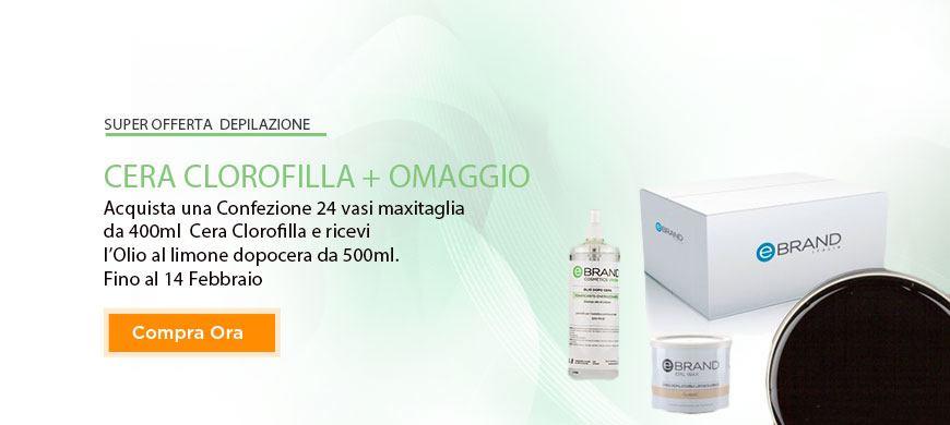 Promo Cera Clorofilla + Olio Limone Omaggio