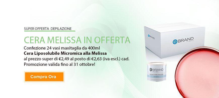 Promo Cera Micromica Melissa