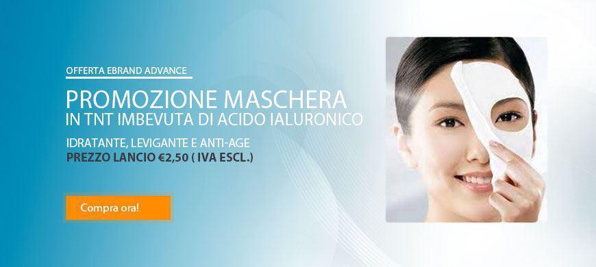 Promo Maschera Monouso Acido Jaluronico