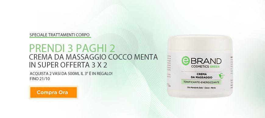 Promo Crema Cocco Menta